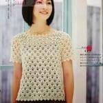 Merserize Tığ İşi Bluz Modelleri 20