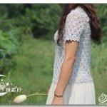 Merserize Tığ İşi Bluz Modelleri 4