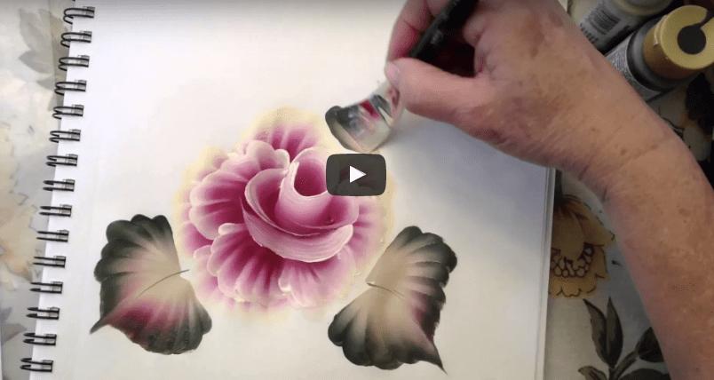 Ahşap Boyama çiçek Desenleri Mimuucom