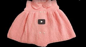 Şişle Örülen Bebek Elbiseleri Anlatımlı