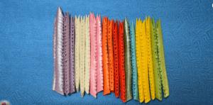 3D Origami Tavus Kuşu Yapımı 1