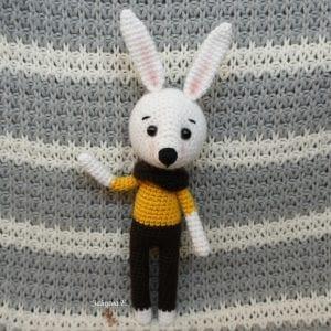 Amigurumi Tavşan Yapımı Anlatımlı 2