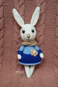 Amigurumi Tavşan Yapımı Anlatımlı Tarifi