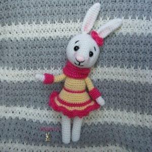 Amigurumi Tavşan Yapımı Anlatımlı 6