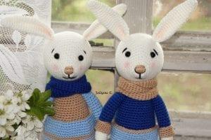 Amigurumi Tavşan Yapımı Anlatımlı 7
