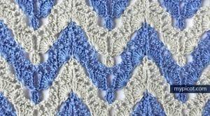 Anlatımlı Zikzak Battaniye Yapımı 6