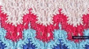 Anlatımlı Zikzak Battaniye Yapımı 8