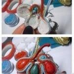 Boncuk Küpe Yapılışı Desenleri Modelleri 10