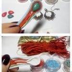 Boncuk Küpe Yapılışı Desenleri Modelleri 5