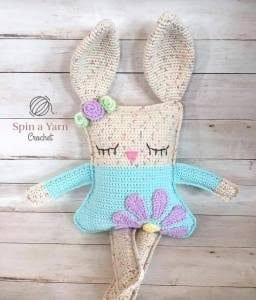 El Yapımı Amigurumi Tavşan 1