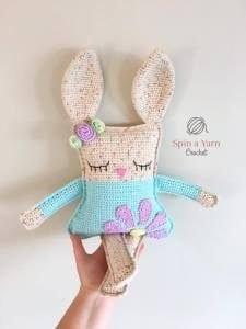 El Yapımı Amigurumi Tavşan 5