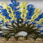 İğne Oyası Saray Süpürgesi Videolu Anlatımlı