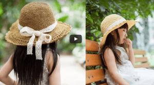 Kağıt İpten Anlatımlı Şapka Yapımı