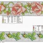 Kanaviçe Çiçek Desen Modelleri 9