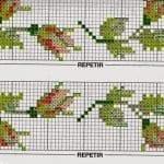 Kanaviçe Çiçek Desen Modelleri 1