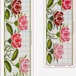Kanaviçe Çiçek Desen Modelleri 4