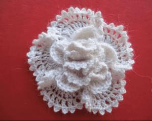 Örgü Çiçek Yapımı Modelleri