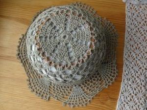 Yazlık Dantel Şapka Modelleri 5