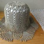 Yazlık Dantel Şapka Modelleri 6