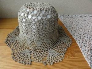 Yazlık Dantel Şapka Modelleri