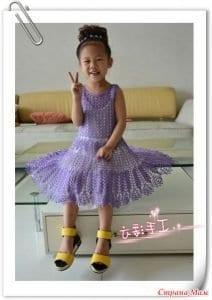 5 Farklı Modelde Kız Çocuk Elbise Yapımı 9