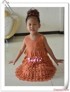 5 Farklı Modelde Kız Çocuk Elbise Yapımı 2
