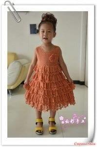 5 Farklı Modelde Kız Çocuk Elbise Yapımı 3