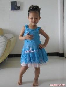 5 Farklı Modelde Kız Çocuk Elbise Yapımı 5