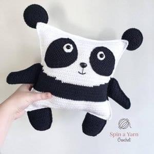 Amigurumi Panda Tarifi 9