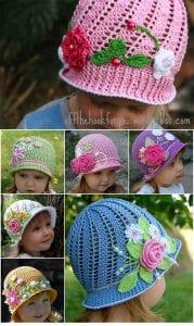 Çocuk Şapka Modeli Açıklamalı 1
