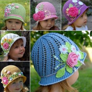 Çocuk Şapka Modeli Açıklamalı