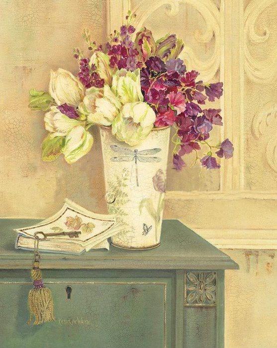 Dekupaj için Çiçek Resimleri 102