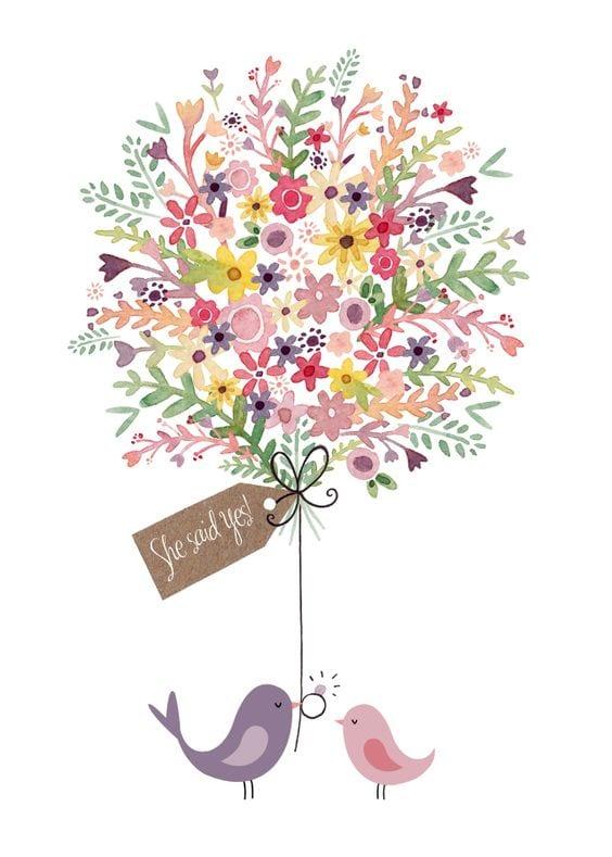 Dekupaj için Çiçek Resimleri 104