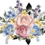 Dekupaj için Çiçek Resimleri 110