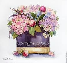 Dekupaj için Çiçek Resimleri 121