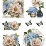 Dekupaj için Çiçek Resimleri 17