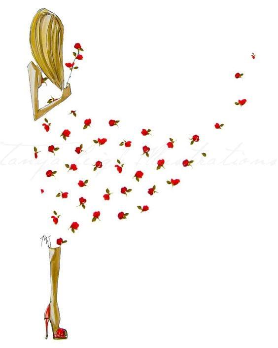 Dekupaj için Çiçek Resimleri 1