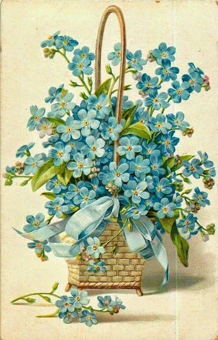 Dekupaj için Çiçek Resimleri 21