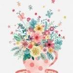 Dekupaj için Çiçek Resimleri 23