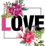 Dekupaj için Çiçek Resimleri 30