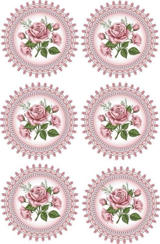 Dekupaj için Çiçek Resimleri 55