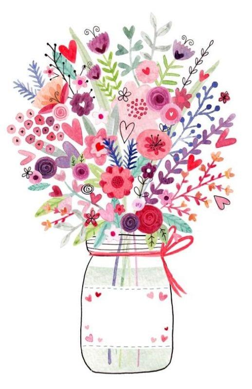 Dekupaj için Çiçek Resimleri 87