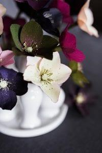 Grapon Kağıdı ile Çiçek Yapımı 17
