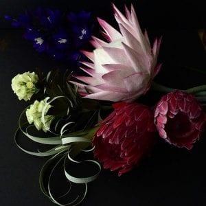 Grapon Kağıdı ile Çiçek Yapımı 1