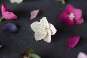 Grapon Kağıdı ile Çiçek Yapımı 25