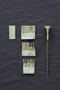 Grapon Kağıdı ile Çiçek Yapımı 8
