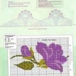 Kanaviçe Havlu Örnekleri Şemalı 9