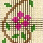 Kanaviçe Havlu Örnekleri Şemalı 14