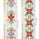 Kanaviçe Havlu Örnekleri Şemalı 23