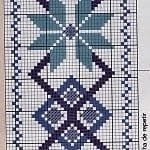 Kanaviçe Havlu Örnekleri Şemalı 34